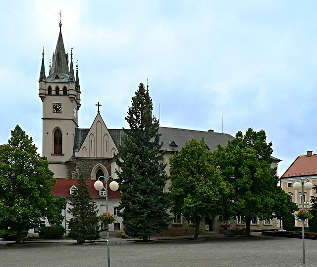 Humpolec, Horní náměstí.