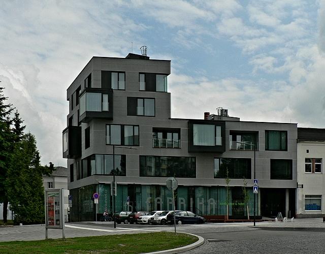 Humpolec, hotel Fabrika.