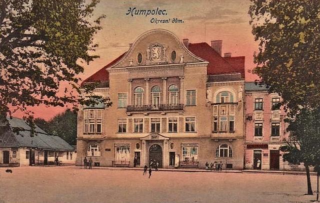 Humpolec, historická pohlednice.