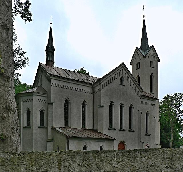 Humpolec, kostel sv. Jana Nepomuckého.