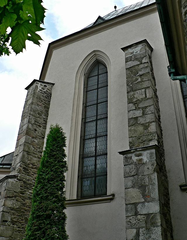Humpolec, kostel sv. Mikuláše.