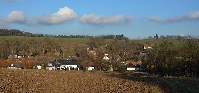 Pohled na Střehom od západo-jihozápadu.