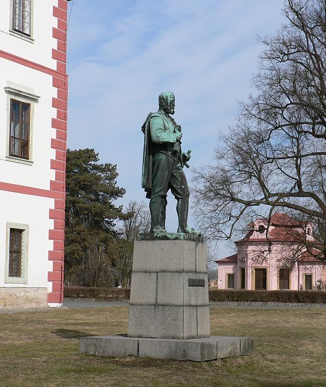 Socha Václava Budovce z Budova.