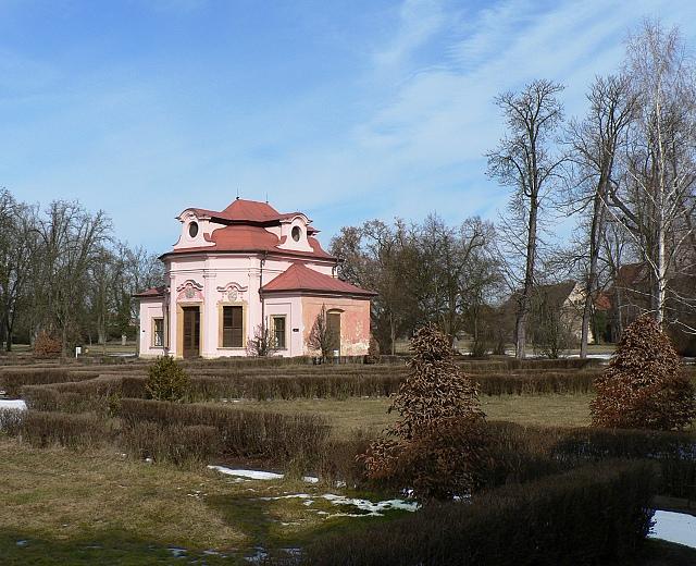 Zámek Mnichovo Hradiště, sala terrena.