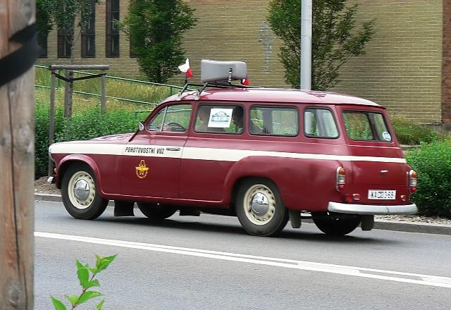 Škoda 1202, pohotovostní vůz pražského dopravního podniku.