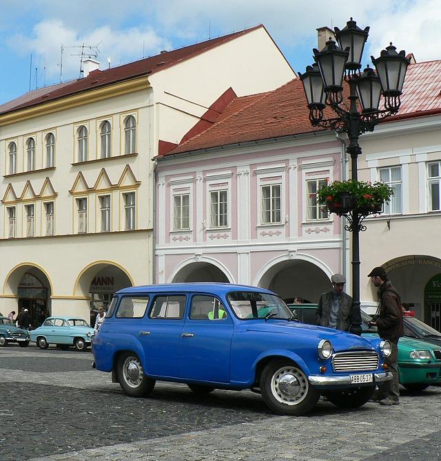 Škoda 1202 STW v Jičíně.