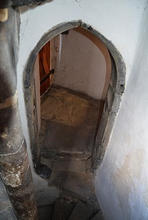 Interiér věže.
