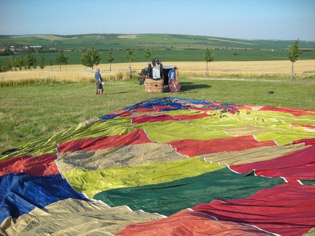 Roztahování balonu
