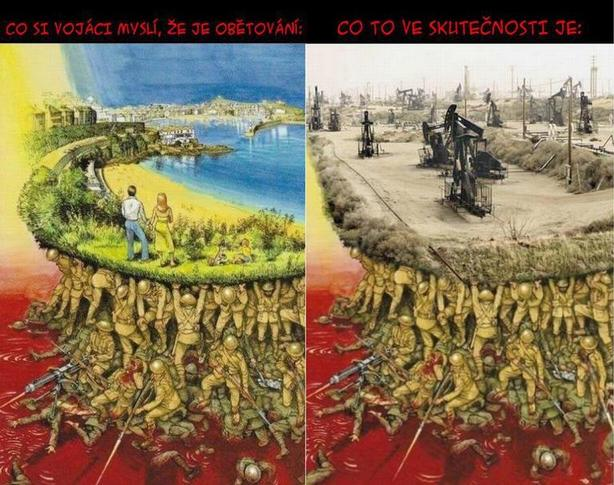 foto: Krutá realita války