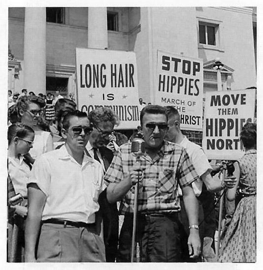foto: Dlouhé vlasy jsou komunismus - Little Rock (1959), Arkansas