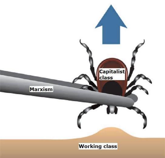 foto: K čemu slouží marxismus? K osvobozování pracující třídy od třídy kapitalistické.