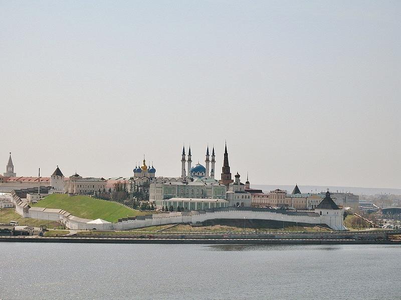 Kazaňský Kreml a Mešita - symbol mírového soužití pravoslaví a islámu v Rusku