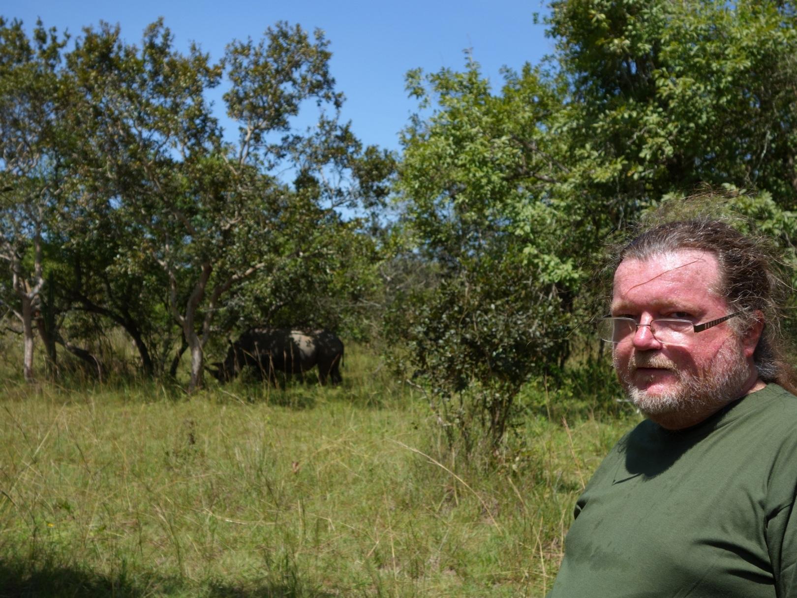 Já a nosorožec - nosorožec vlevo