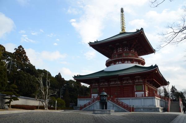 V chrámovém komplexu Naritasan Shinshoji