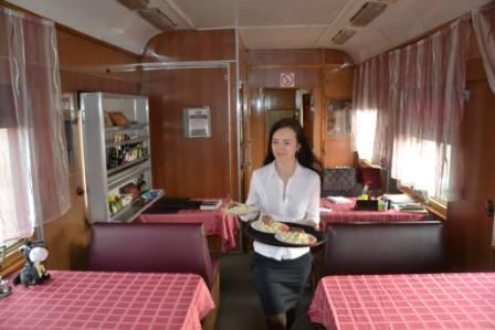 V jídelním voze