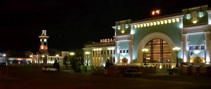 Nádraží v Novosibirsku