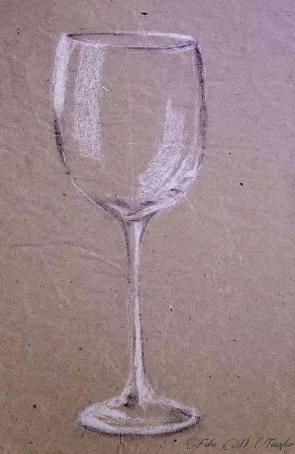 Malba Akrylem Jednoduchy Obraz S Cisemi A Sklenenou Kouli Skica