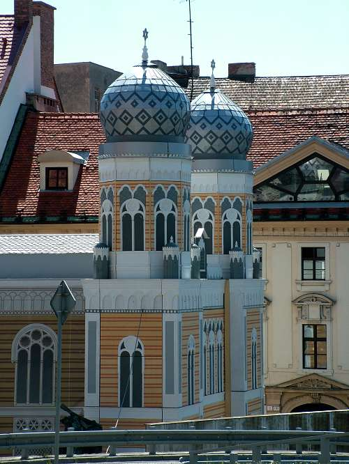 Neologická synagóga - replika