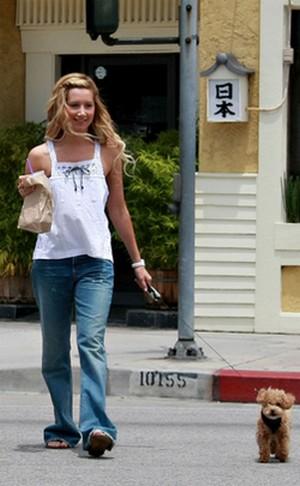 ashley tisdale walk - AshLey'Le moda