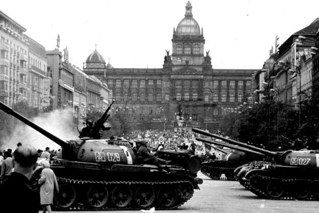 Srpen 1968 na Václaváku