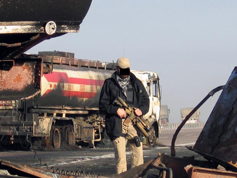 Bežný obraz na silnicích v Afghá
