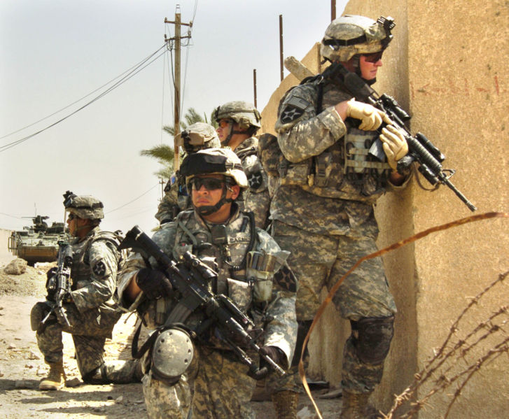 Amer.vojáci v Iráku Wikipedia