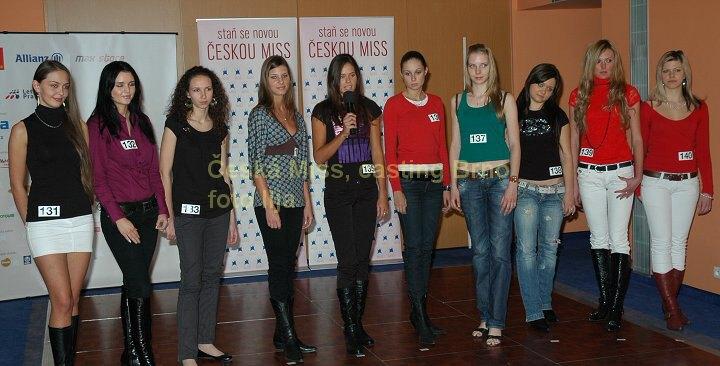foto: Casting na Českou miss v Brně