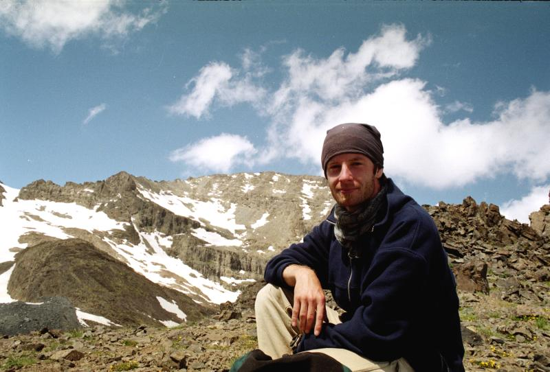 Tomáš Libenský v Turecku Foto: Archiv Tomáše Libenského