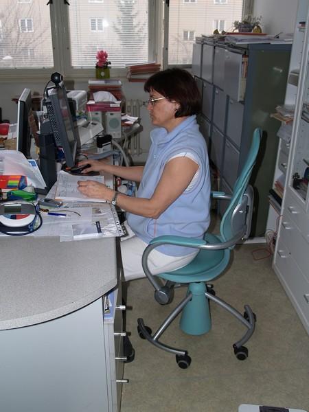 Studenti se mohou zaregistrovat i u doktorky Nehybové. Foto: Tereza Sýkorová