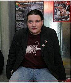 Jednou z organizátorek Mezipater je Klára Slivoňová. Foto: archiv Kláry Slivoňové