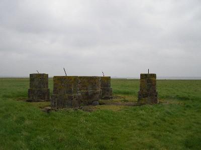 Hiddensee, zbytky starého majáku