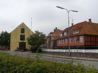 Hlavní silnice v Nexo