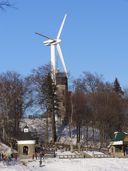 Větrná elektrárna na Svatém Hostýnu