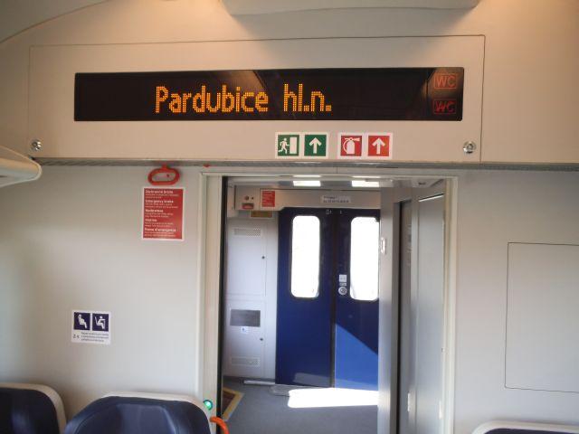 Vlak jede směr Pardubice hl.n.?