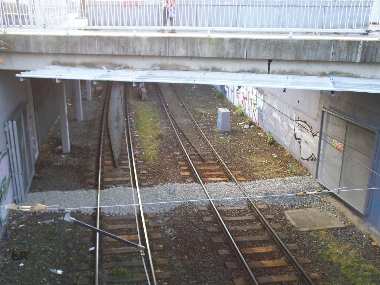 Pohled z druhé strany od centra