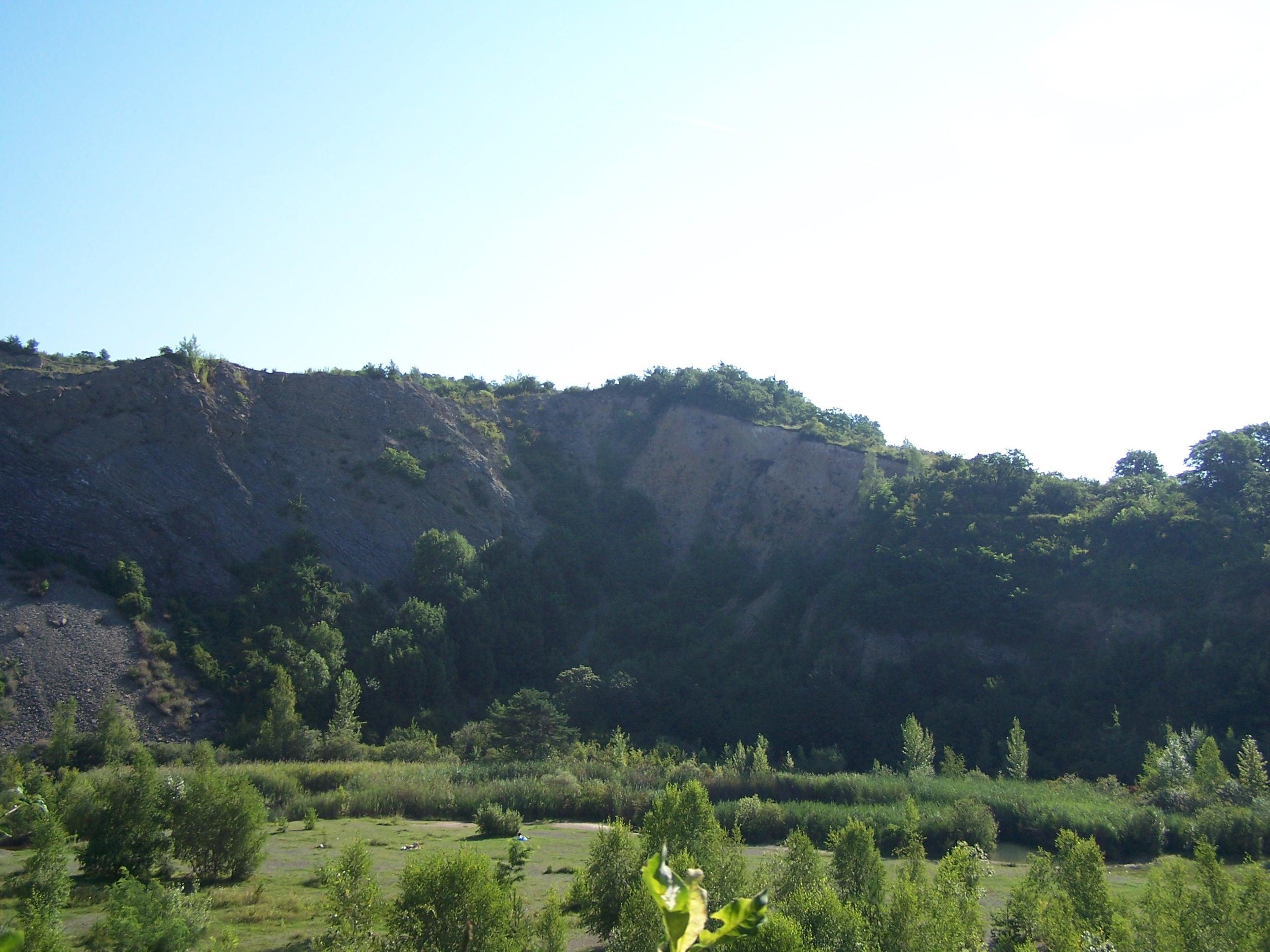 Růženin lom v Brně, kde před lety proběhly přírodě blízké rekultivace a kde dekadence vytvořil jedinečný systém biotopů.