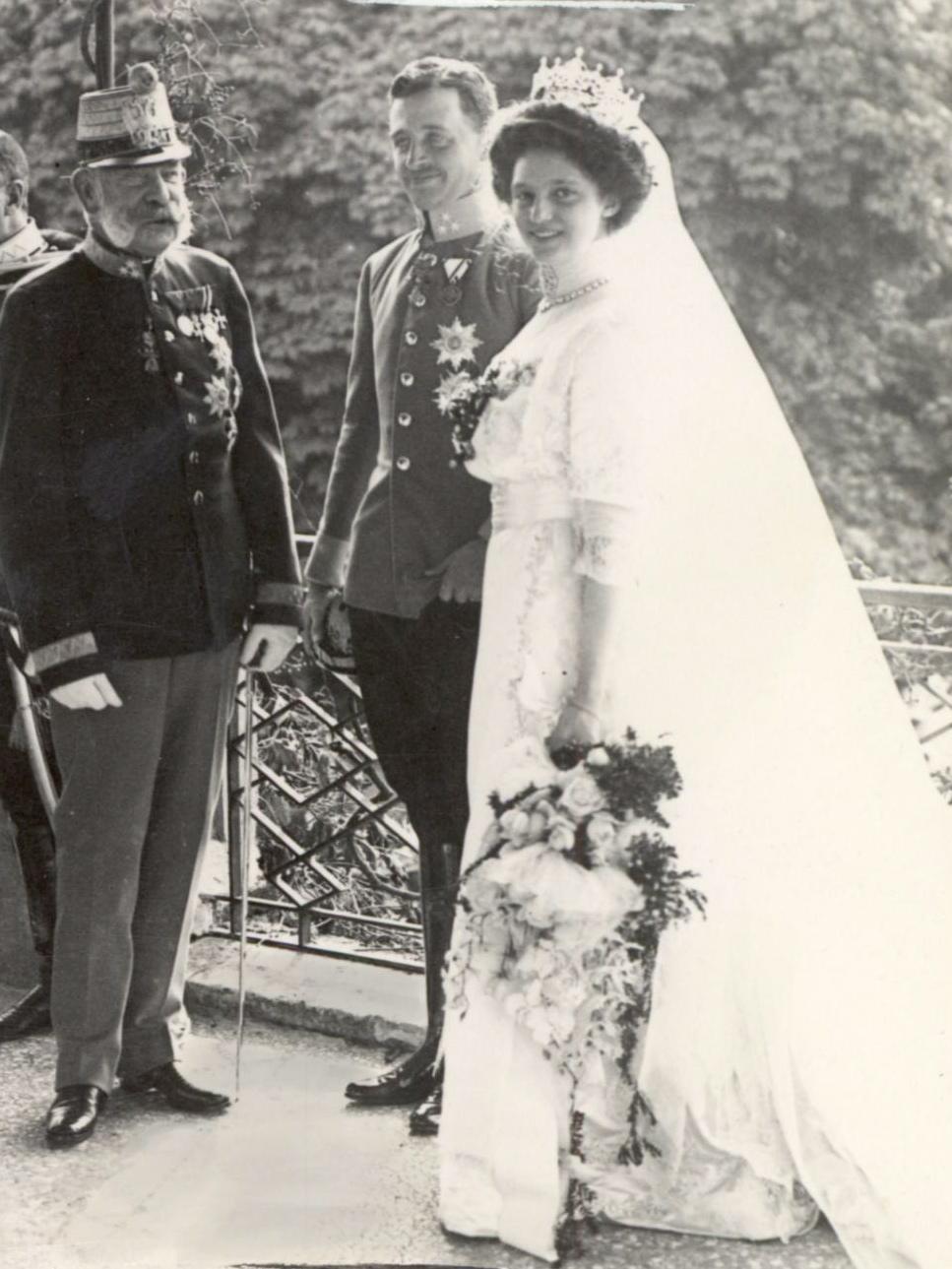 Svatba Karla a Zity