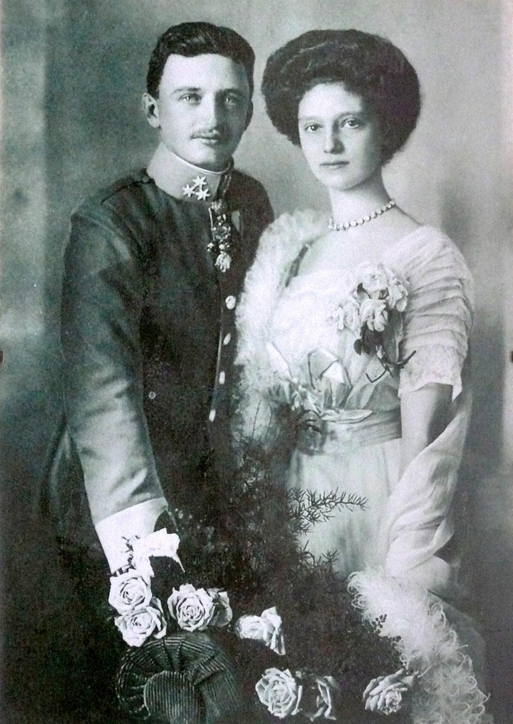 Císař Karel a Zita