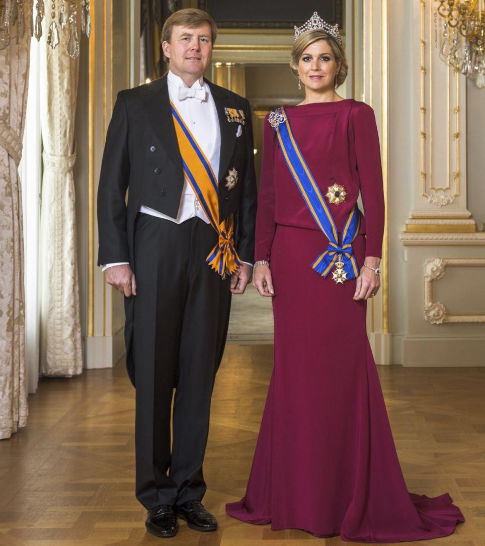 Nový nizozemský královský pár – oficiální portrét