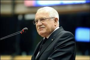 Václav Klaus v europarlamentu