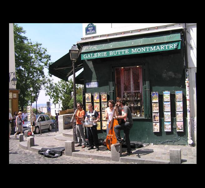 Čtyři dny brouzdání romantickou paříží uličkami které