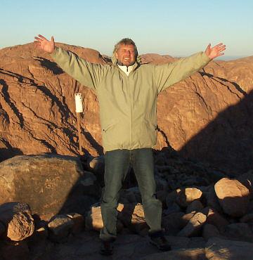 Něhoterapeut na Sinaji