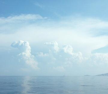 Oblaka v Řecku