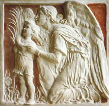 Dítě a anděl